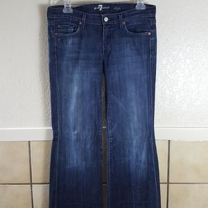 Seven for all Mankind Dojo flare leg jeans Size 30